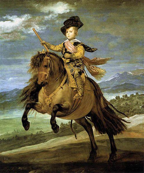 Príncipe Baltasar Carlos (1635)  Diego Velázquez, pintor del barroco español