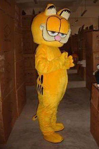 Warmcos Garfield Mascot Costume Cartoon Character Cosplay Cat Fancy Dress Outfit - http://www.holidaygoodness.com/warmcos-garfield-mascot-costume-cartoon-character-cosplay-cat-fancy-dress-outfit/ #Holidays #Halloween