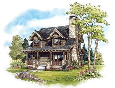 Plan 11549KN: 2 Bed Rustic Retreat (Or Three)...