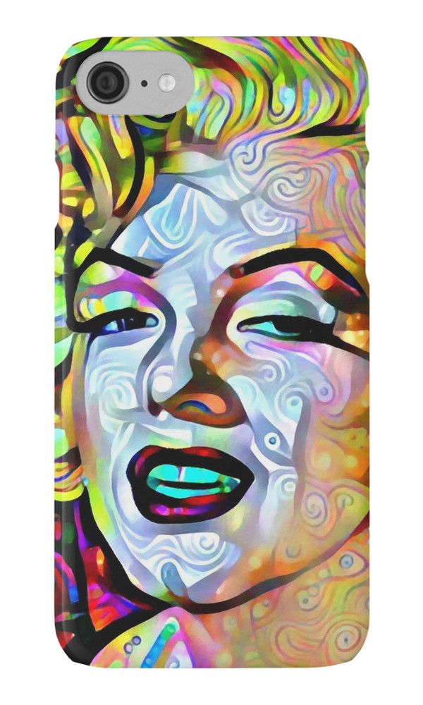 """Merlin Monroe"" iPhone Cases & Skins by siwabudda 