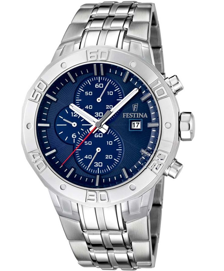 FESTINA Chrono Stainless Steel Bracelet Τιμή: 198€ http://www.oroloi.gr/product_info.php?products_id=36416