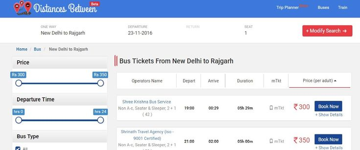 Find New Delhi to Rajgarh Bus Tickets Volvo Booking Non AC Seater, New Delhi to Rajgarh Sleeper Online Fares, Distance, Boarding Point, Timings & Routes.