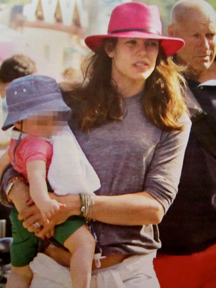 Charlotte Casiraghi & Baby - Cap Ferret -Summer 2014 - France