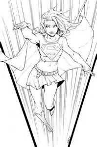 57 best super womens images on pinterest | coloring books, adult ... - Supergirl Coloring Pages Kids