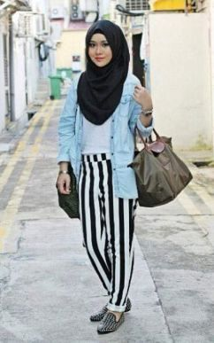 1000 Images About Hijab Fashion On Pinterest Hijab Street Styles Teenagers And Pump
