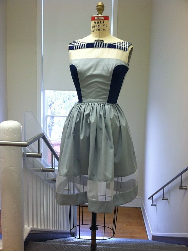 I have designed 3 dresses and creating and constructing 1.