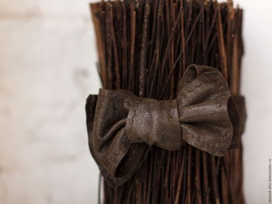 Галстуки, бабочки ручной работы. Ярмарка Мастеров - ручная работа. Купить Галстук бабочка коричневый. Handmade. Саймон, галстук-бабочка