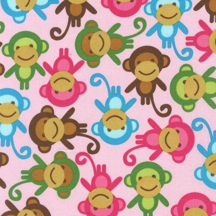 Cute Monkeys!: Monkey Fabric, Pattern, Monkeys, Wallpaper, Fabrics, Baby, Spring