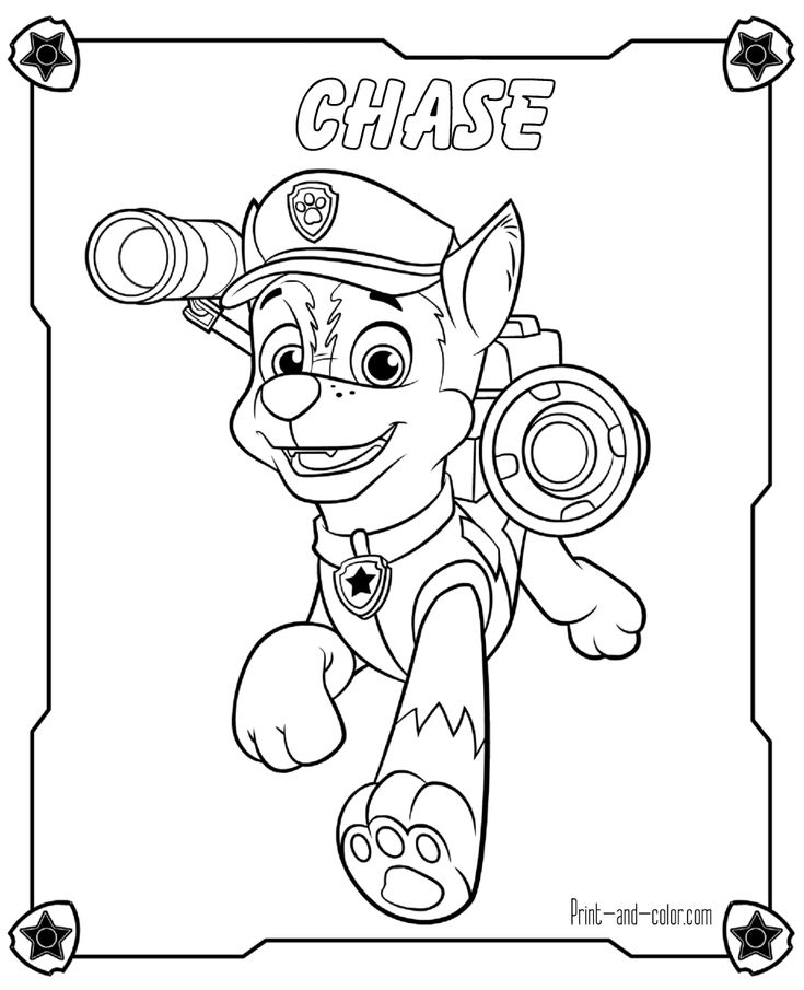 Paw Patrol Winter Coloring Pages : Best paw patrol images on pinterest