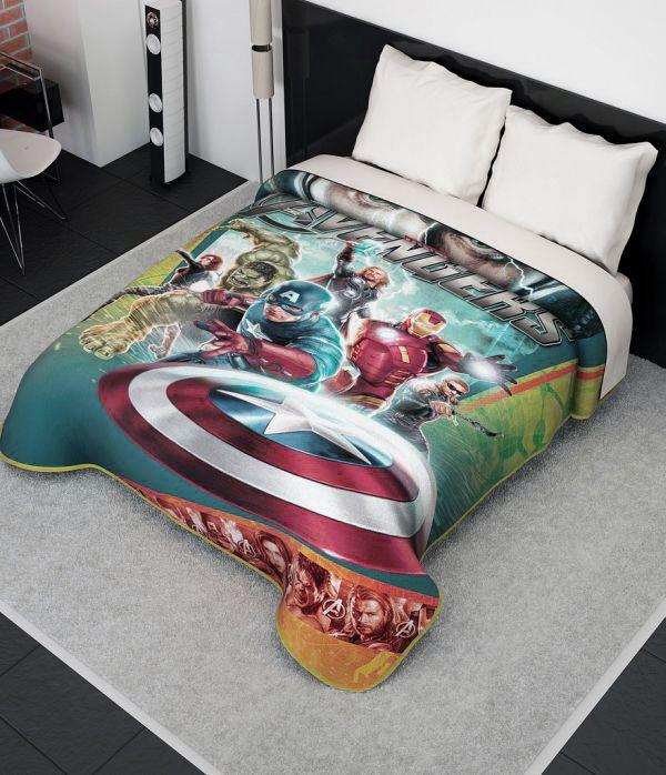 Superheroes Bedding for Kids Room Decor The Avengers Bedding Set to Complete Your Kids Bedroom Design – Interior Design