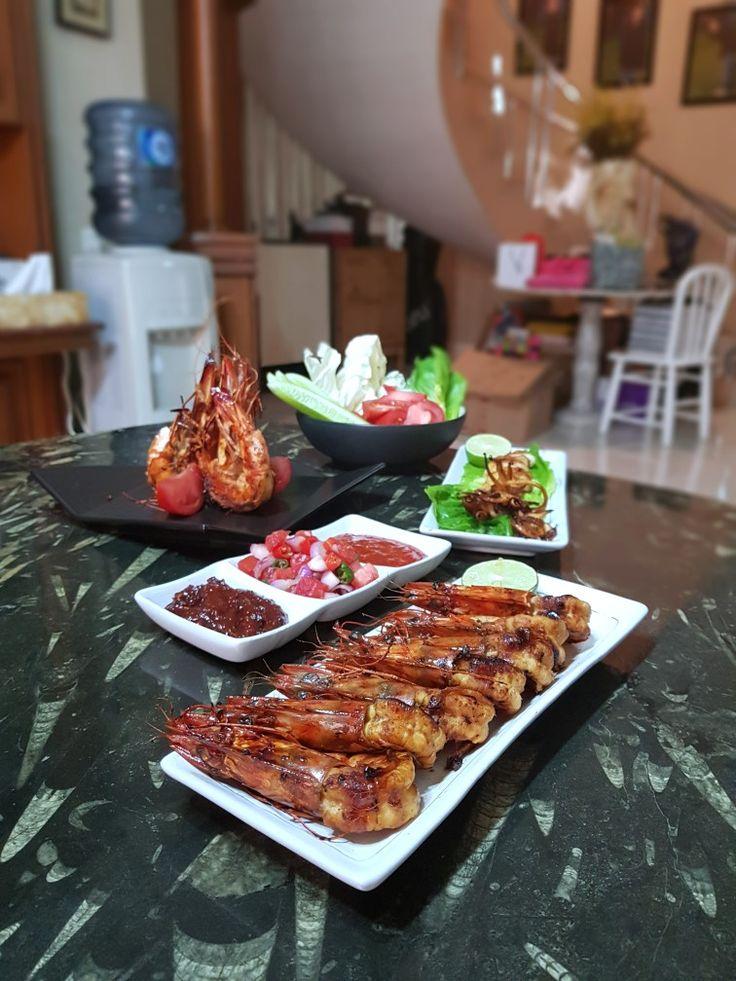 """Udang Pancet Bakar Madu"", Tjitra's Kitchen, Jakarta"