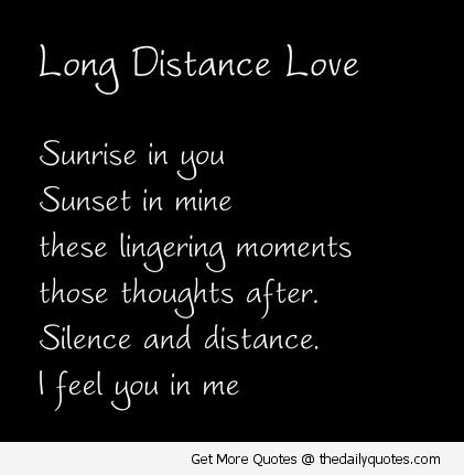 Cute Long Distance Relationship Quotes For Him And Her With Romantic  Images. Distance Friendship Or Love Affairs Quotes, Sayings U0026 Messages To  Romance U0026 To ...