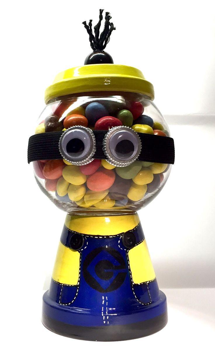 Minion candy jar