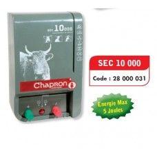 Aparat gard electric pentru animale domestice si salbatice SEC 10000, 5J, 220V - Chapron