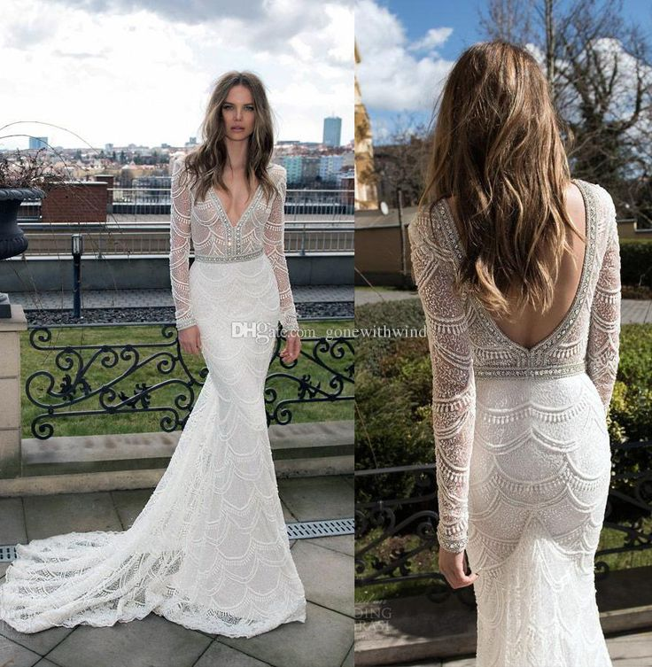 1138 best 2016 wedding dresses images on pinterest short for Lace wedding dress with pearls