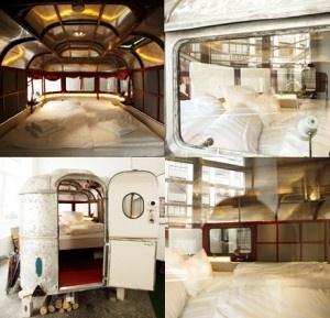 L'Hotel fatto come un campeggio (al coperto) che fa pagare una capanna di legno come una singola | Berlino Cacio e Pepe