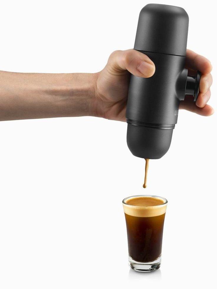 Más pequeño fabricante mundial al aire libre del café express