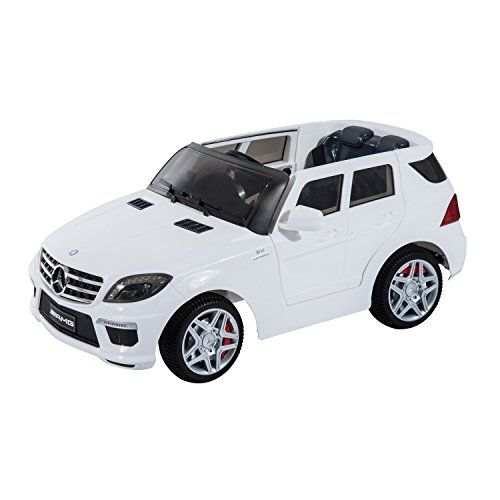 mercedes benz ml63 12v kids electric ride on car with mp3 and remote control white