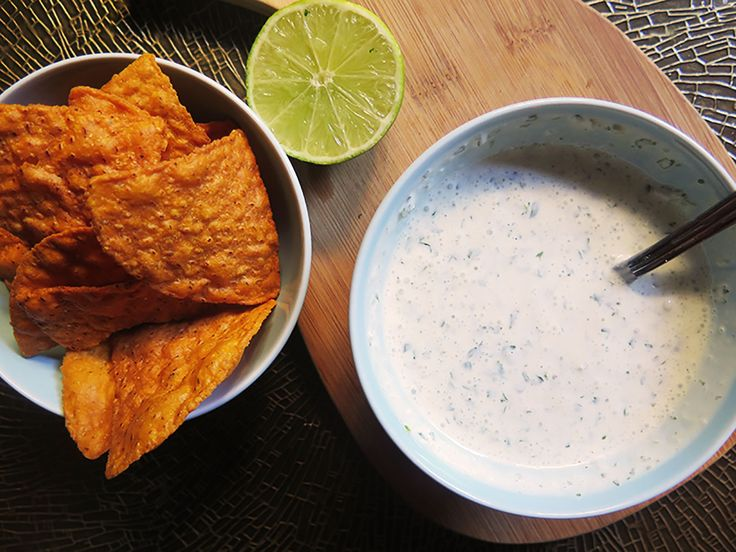 The best cilantro garlic sauce that is simple and easy to make with five ingredients.