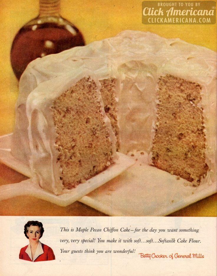 Paleo Maple Walnut Chiffon Cake