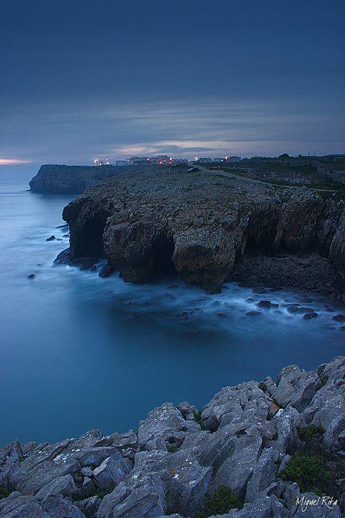 ✯ Dark Deep Blue - Peniche, Portugal