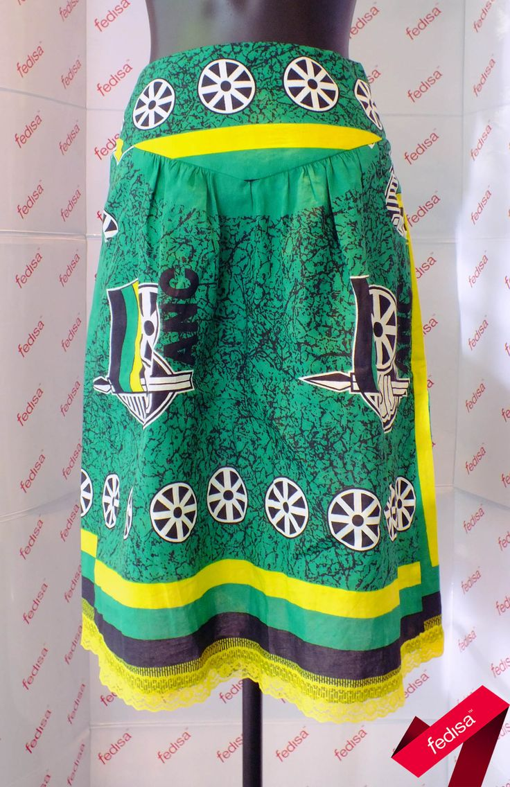 """First Years constructed """"The Le Femme Dirndl Skirt"""" in Garment Technology #summertrend2013 #nelsonmandela #prints"""