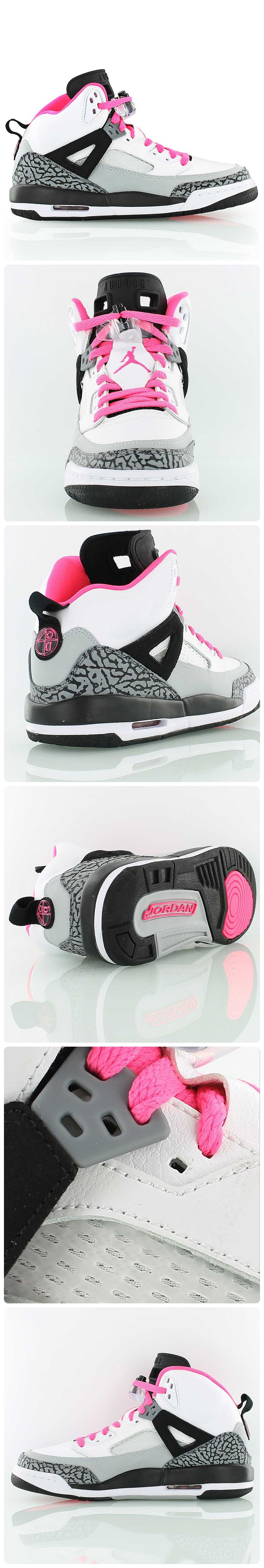 Jordan Spizike GG 'Hyper Pink' // The legendary hybrid is a mixture of the Air Jordan sneakers: AJ 3, AJ 4, AJ 5, AJ 6 and AJ 9. Designed to honor Spike Lee aka Mars Blackmon.