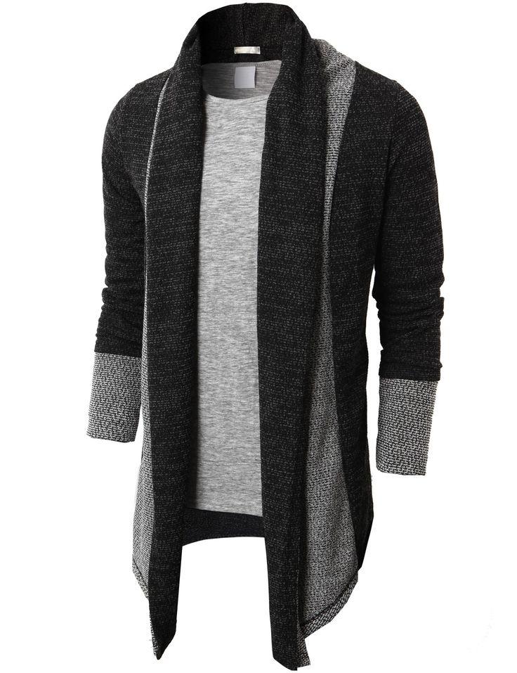 $31.99 Doublju Men's Shawl Collar Cardigan With No Button (KMOCAL012)&url=http://www.doublju.com/doublju-men-s-shawl-collar-cardigan-with-no-button-kmocal012