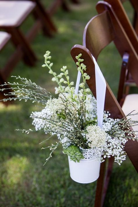 Chances are you've probably already seen this pretty lace pot at a wedding.   It's cheap, elegant and looks amazing stuffed with gypsophila – what's not   to love!? £2,IKEA Image:Pinterest