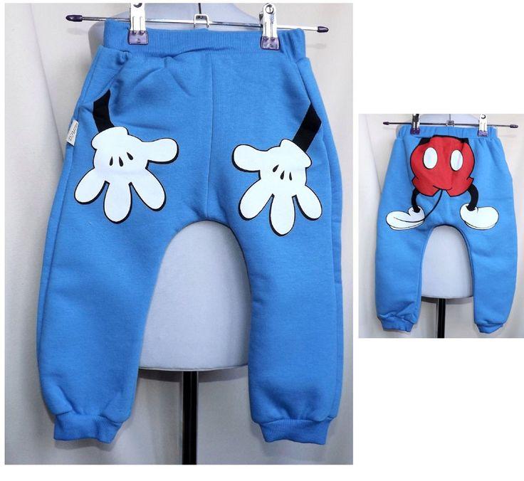 Baby-Kinder-Hose-Baggy-Jungen-Joggers-Jogginghose-Sweathose Gr. 80-98