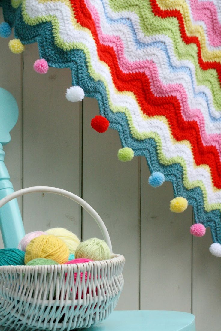 Coco Rose Diaries: A Blankety Ta-dah........ with pom poms!!