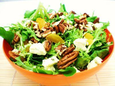 Comidinhas Natalinas – Salada Festiva | Figos & Funghis