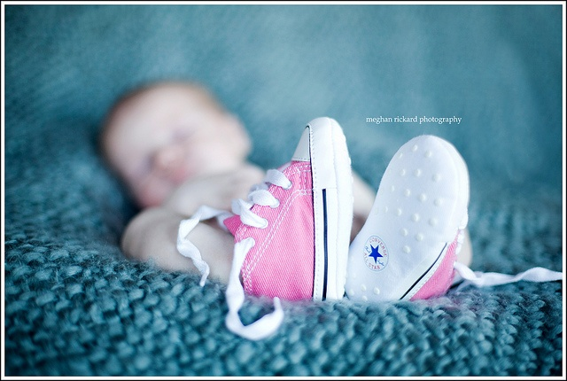 baby girl chucks...