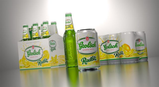 Grolsch Radler on Packaging of the World - Creative Package Design Gallery