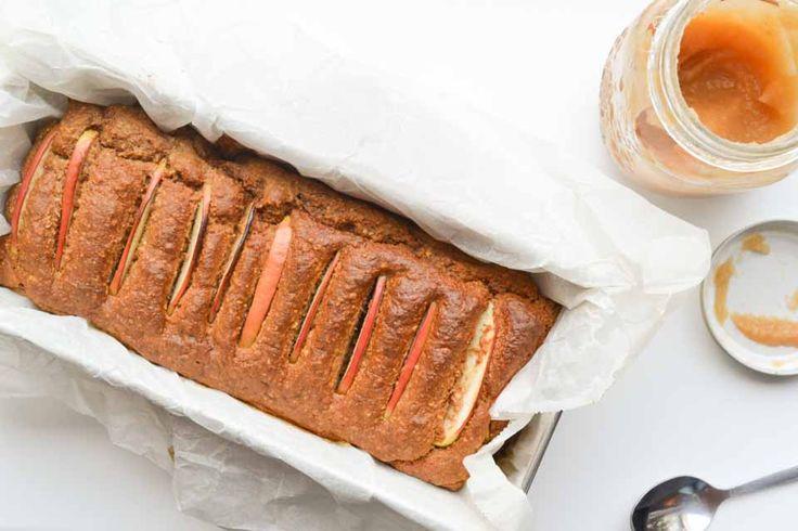 Suikervrije Cake van Appelmoes, Haver en Roggemeel