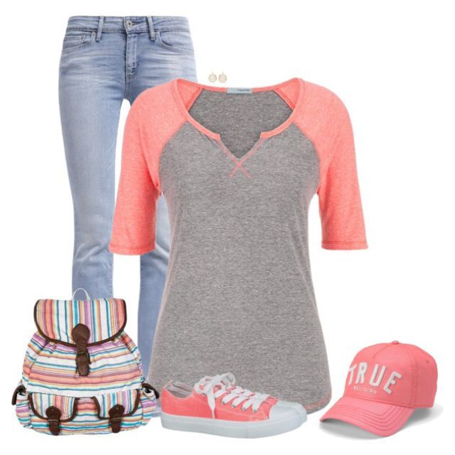 Casual Outfit | via https://www.pinterest.com/brookskatrina/for-the-girls/