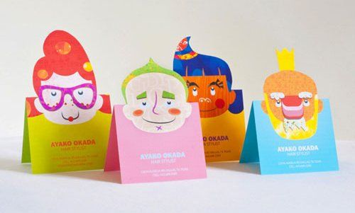 Popup Business Cards