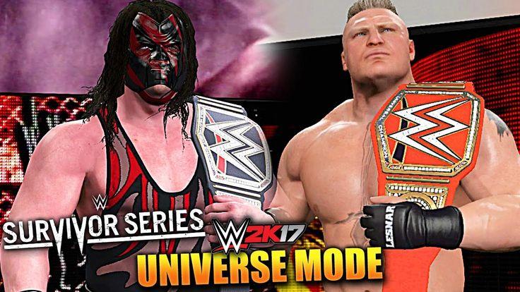 WWE 2K17 UNIVERSE MODE #59 'TWO TITLE MATCHES!' (SURVIVOR SERIES PPV PAR...
