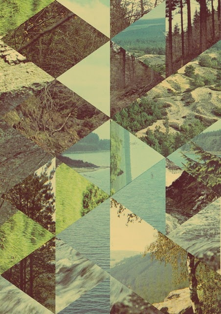 triangle - i really like this .. thinking about doing a print like this w/ my own photos