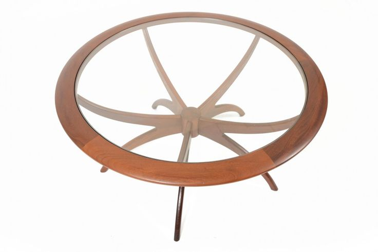 TEAK + GLASS G PLAN SPIDER COFFEE TABLE • Mid Century Mobler