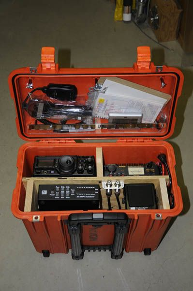 N1VQW Amateur Radio Go-Box