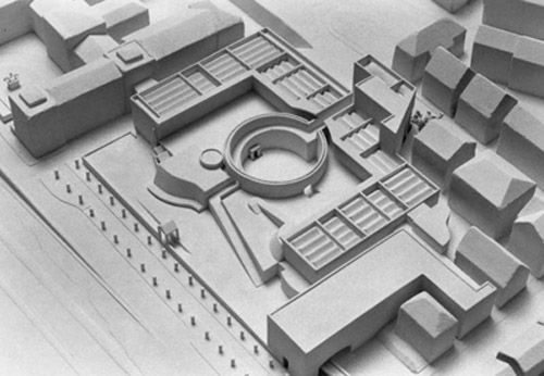 New City Gallery - Stuttgart by James Stirling