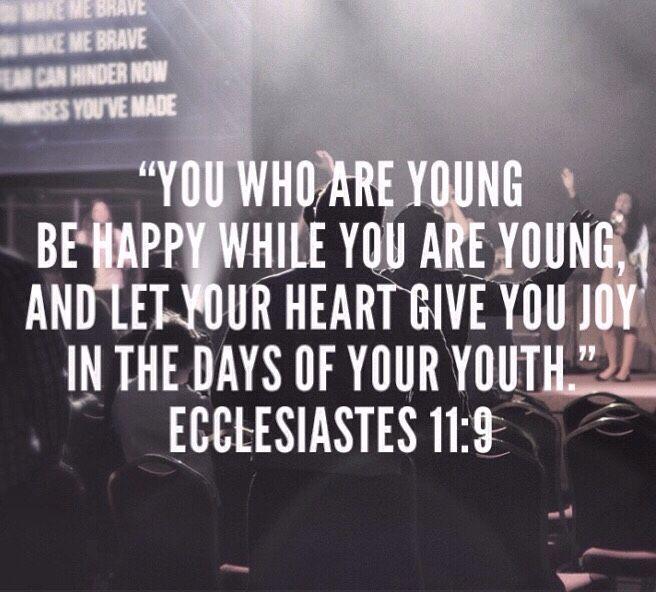 Ecclesiastes 11:9