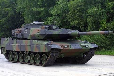 103 tyska stridsvagnar av modellen Leopard 2 återgår i aktiv tjänst.
