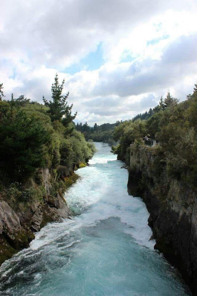 Huka Falls - Taupo, New Zealand