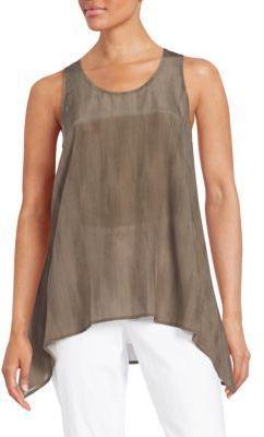 5210328174a Silk Asymmetrical Tunic | My Posh Picks in 2019 | Eileen fisher ...