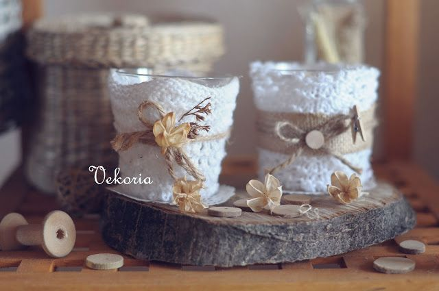 "Vekoria.Tvorchesky rack Victoria Sokurov: ""Knitwear"" scented candles"