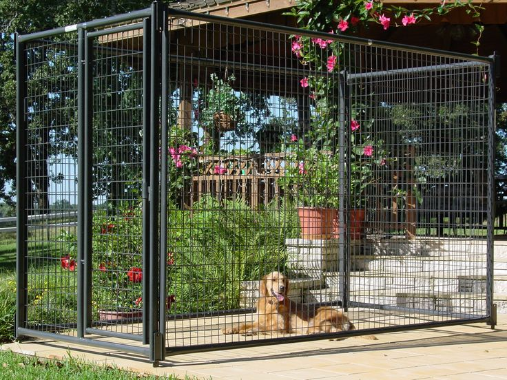 These durable, easy to assemble kennel kits combine galvanizing and powder coating to ensure maximum rust protection from animal urine and cleaning compounds.