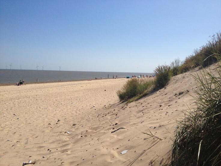 Caister beach near Yarmouth