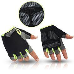 HuwaiH Cycling Gloves Men's/Women's Mountain Bike Gloves Half Finger Biking Gloves | Anti-slip Shock-absorbing Gel Pad Breathable Cycle Gloves - http://mountain-bike-review.net/products-recommended-accessories/huwaih-cycling-gloves-menswomens-mountain-bike-gloves-half-finger-biking-gloves-anti-slip-shock-absorbing-gel-pad-breathable-cycle-gloves/ #mountainbike #mountain biking